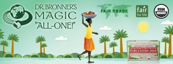 Nieuw bij watMooi: Dr. Bronner's magic zeep