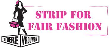 Stoere Vrouwen strippen voor fair Fashion