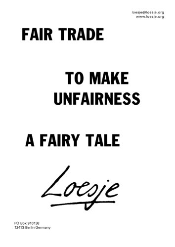 Wereld Fair Trade Dag - Bij watMooi maak je de juiste keuze