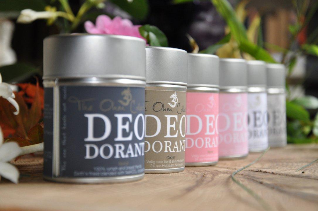 Ohm, de natuurlijke deodorant
