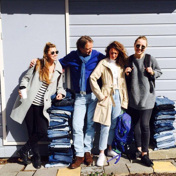 Mud Jeans verwerkt eerste 3000 Lease Jeans tot  nieuwe broeken