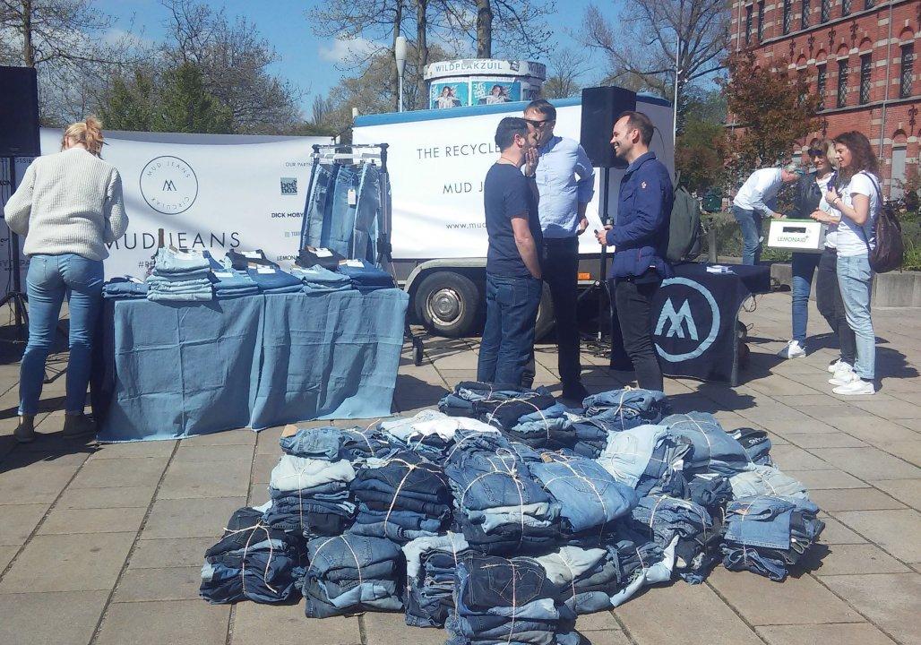 Mud Jeans: Met 3000 spijkerbroeken op weg naar Spanje