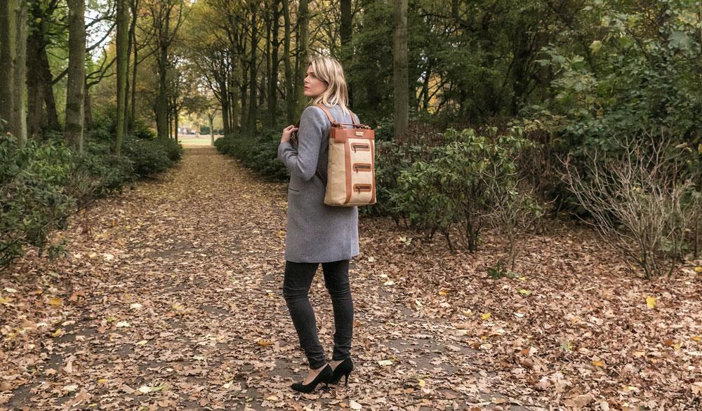 Eco-vriendelijke tassen van jute