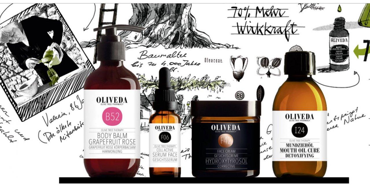 Oliveda: therapie voor je huid